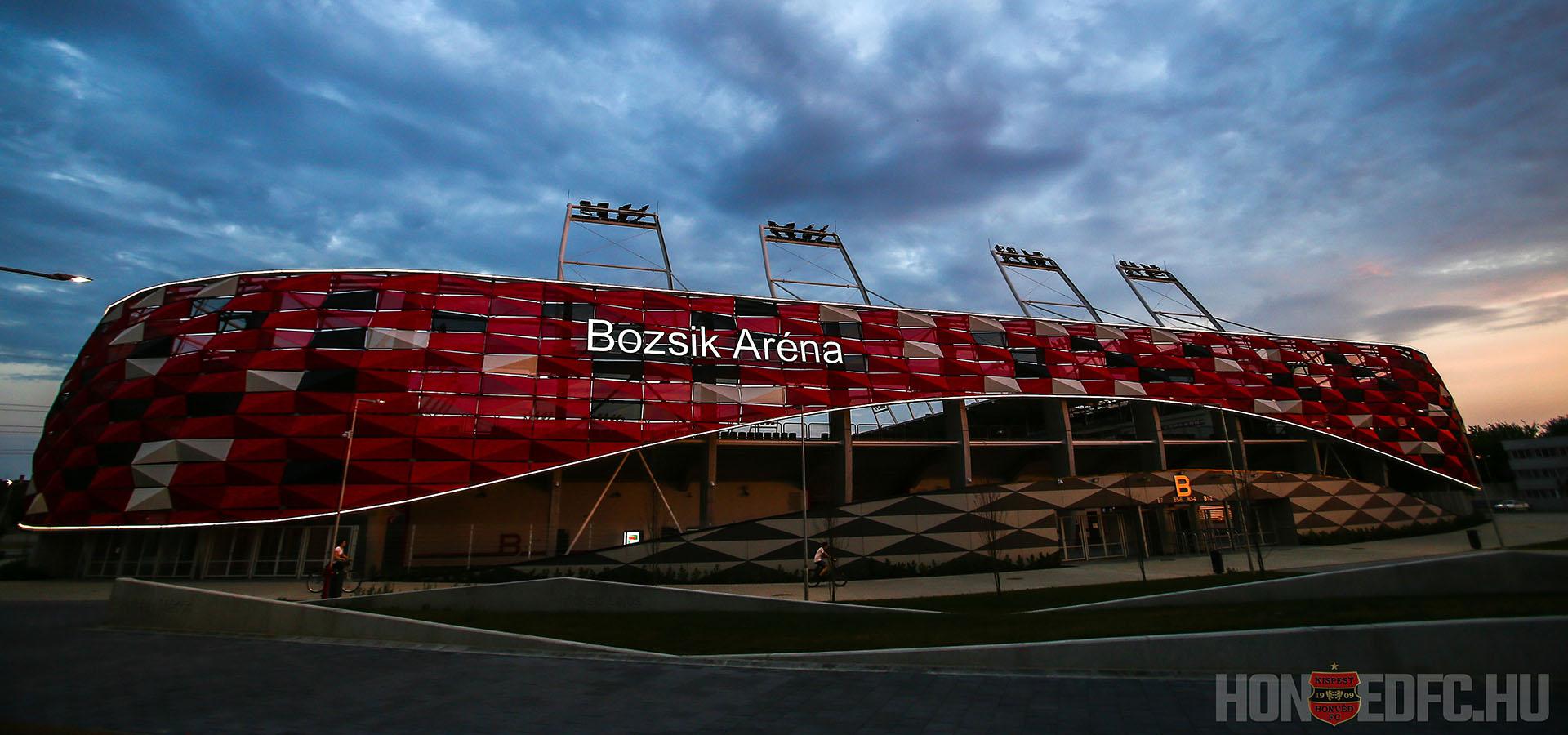 Új Bozsik Stadion - Budapest Honvéd FC